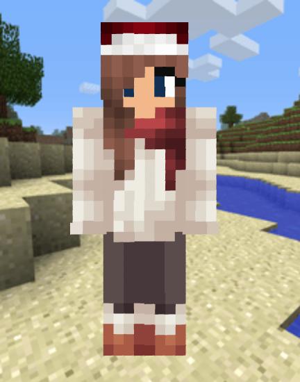 Christmas Minecraft Skin Girl.Some Of My Favorite Minecraft Skins Alice S Restaurant Of