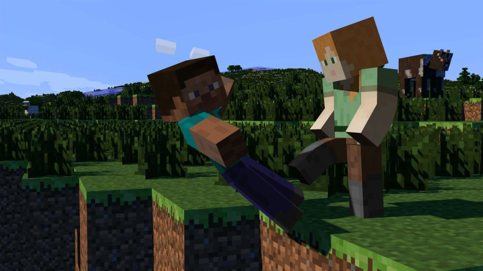 minecraft-alex-kicks-steve